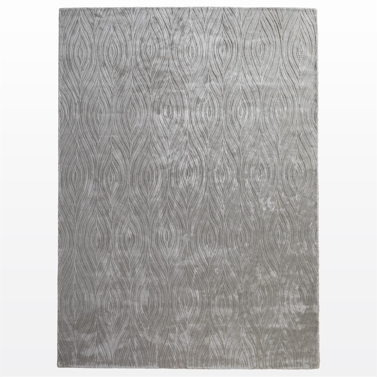 Global Views Optic II Rug-Grey-5 x 8'