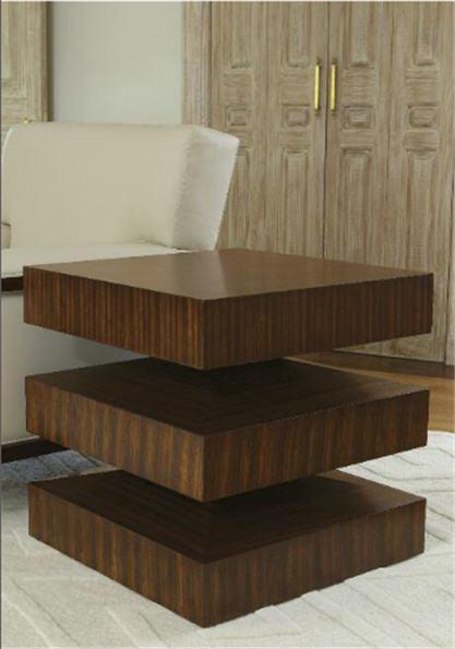 Global Views Furniture In & Out End Table