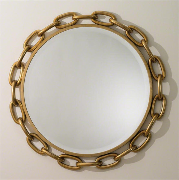 Global Views Home Linked Mirror-Gold