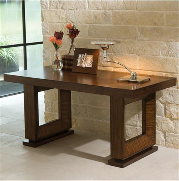 Global Views Furniture Open Block Writing Desk