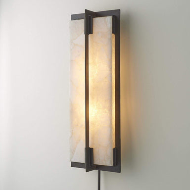 Global Views Home Quartz Sconce 7.90824