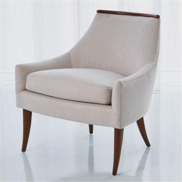 Global Views Furniture Studio-A by Boomerang Chair-Candid Fleece