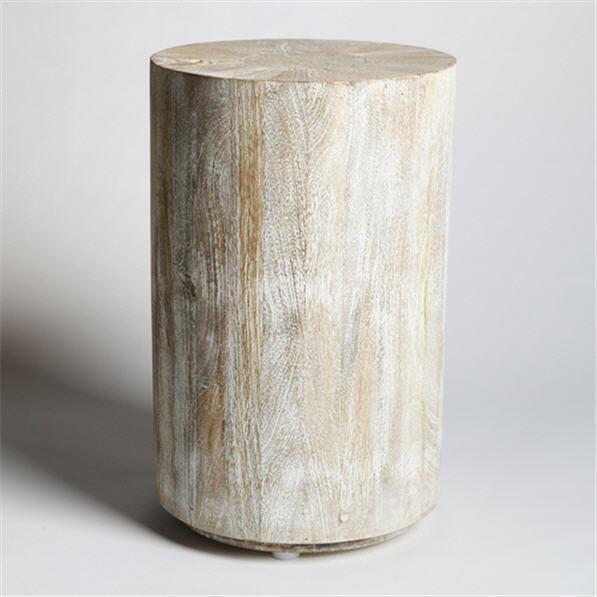 Global Views Furniture Studio-A by Driftwood Drum Table