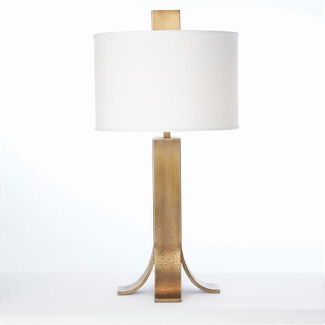Global Views Lighting Studio-A by Everest Lamp-Antique Brass
