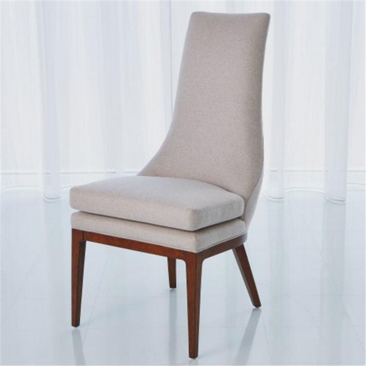 Global Views Furniture Studio-A by Isabella Dining Chair-Muslin