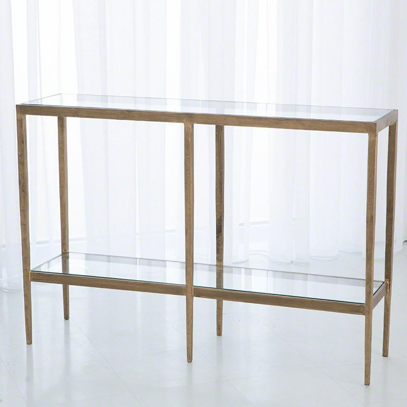Global Views Furniture Studio-A by Laforge Console-Antique Gold