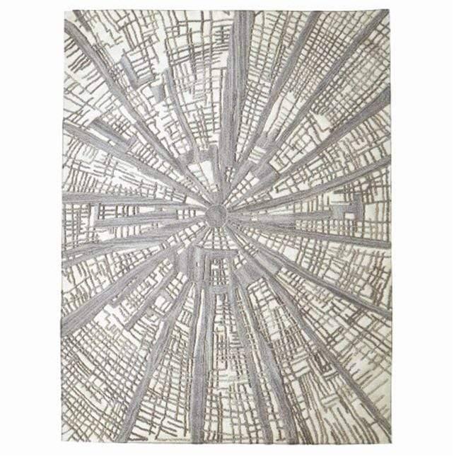 Global Views Home Studio-A by Vortex Rug-Ivory/Natural/Grey-8' x 10'