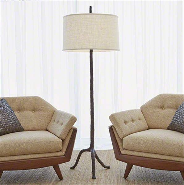 Global Views Lighting Walking Stick Floor Lamp