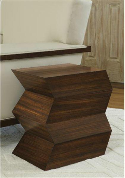 Global Views Furniture Zig Zag Table