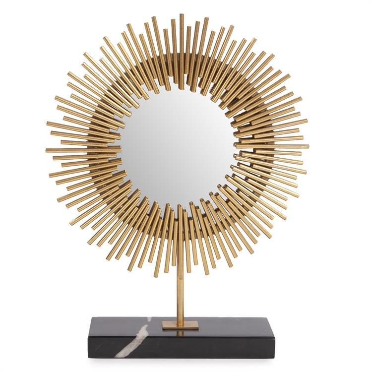 Howard Elliott Home Howard Elliott Ra Sunburst Table Mirror