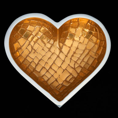 Inspired Generations Giftware CROCO HEART - GOLD: 100198-GLDCRO