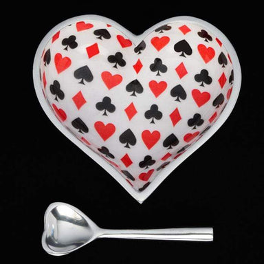 Inspired Generations Giftware Inspired Generations Card Heart with Heart Spoon: 100198-CRD