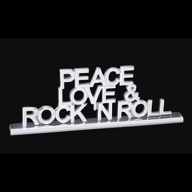 Inspired Generations Giftware Inspired Generations Peace Love & Rock-n-Roll Plaque 103561