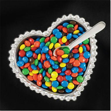 Inspired Generations Giftware Inspired Generations Pearl Heart Bowl with Spoon: 100918
