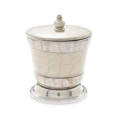 "Julia Knight Serveware Julia Knight Classic 5.5"" Covered Canister Snow"