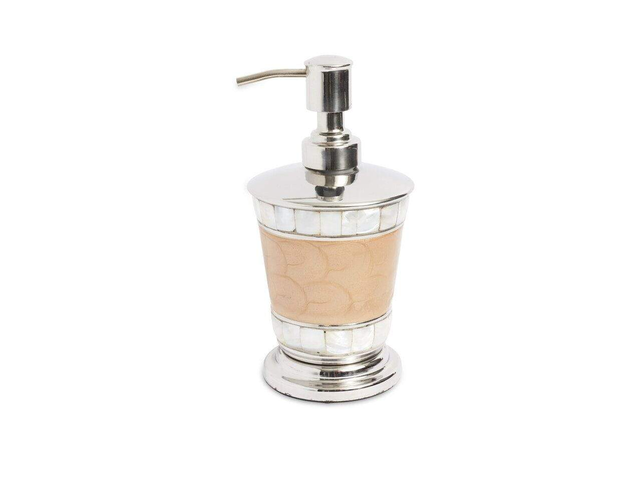 "Julia Knight Classic 7"" Soap/Lotion Dispenser Toffee"