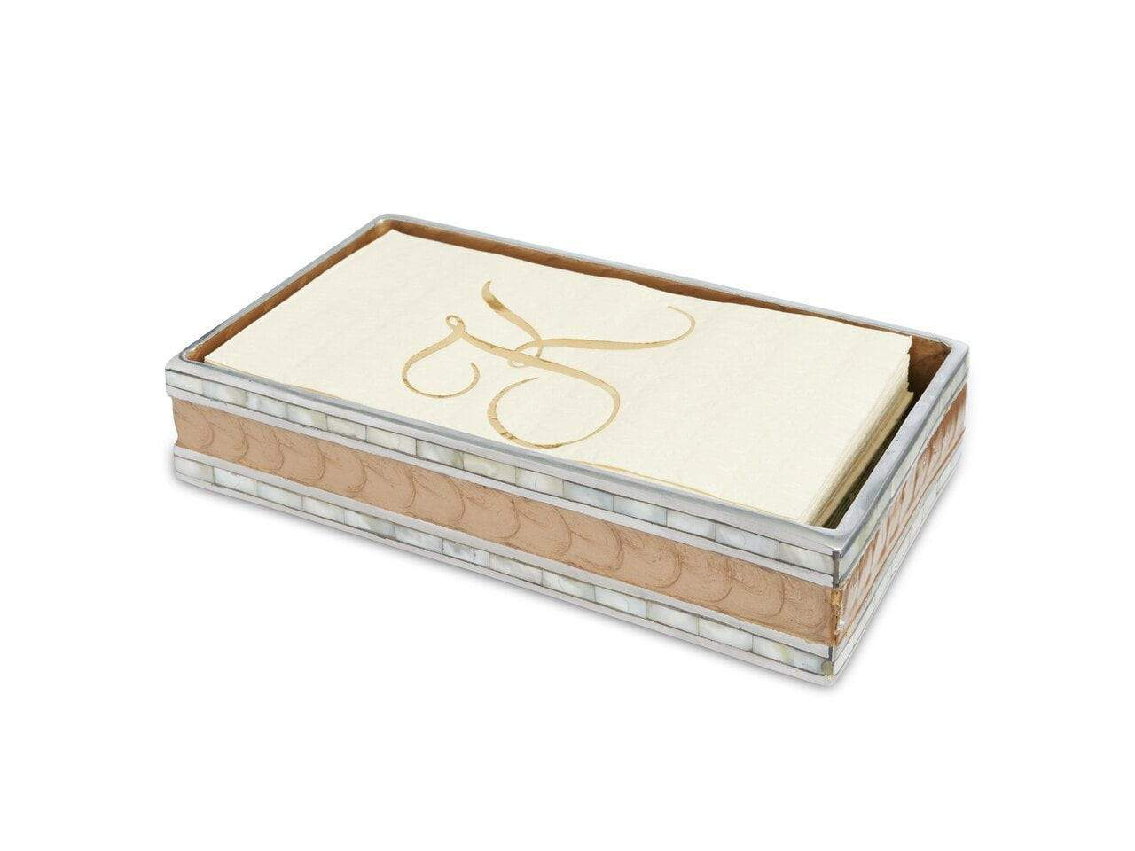 "Julia Knight Classic 9"" Guest Towel Tray Toffee"
