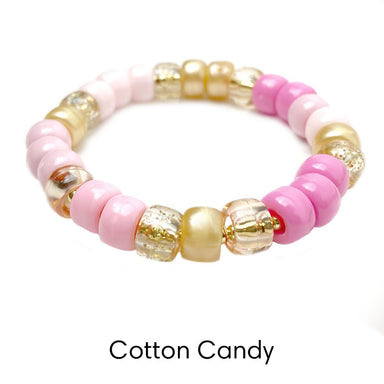 Love, Lisa Jewelry Love, Lisa - Cotton Candy Glam Beaded Stretch Bracelet
