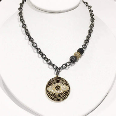 Love, Lisa Jewelry Love, Lisa - Gwen's Evil Eye Signature Necklace Gold