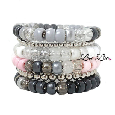 Love, Lisa Jewelry Love, Lisa - Snow White Glam Bracelet Collection