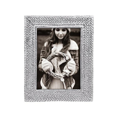 Mariposa Picture Frames Mariposa Cable Knit 5x7 Frame