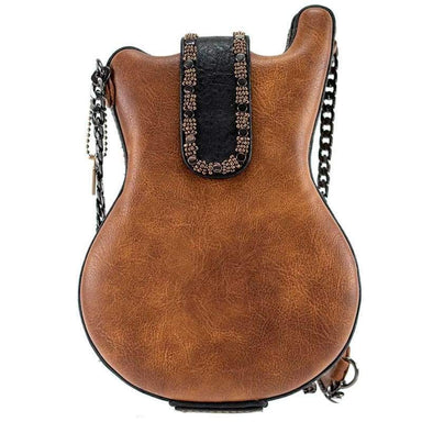 Mary Frances Handbags Mary Frances Open Mic Beaded Crossbody Guitar Handbag