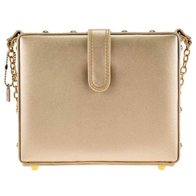 Mary Frances Handbags Mary Frances Sparkling Beaded Crossbody Champagne Handbag
