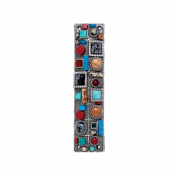 Michal Golan Judaica Michal Golan Mezuzah with Stones