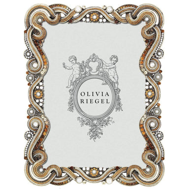 "Olivia Riegel Picture Frames Olivia Riegel Baronessa 5"" X 7"" Frame With Silk Back"