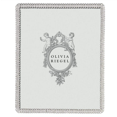 "Olivia Riegel Picture Frames Olivia Riegel Crystal Chelsea 8"" x 10"" Frame - Shipping April"