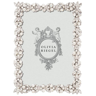 "Olivia Riegel Picture Frames Olivia Riegel Crystal Victoria 2.5"" X 3.5"" Frame"