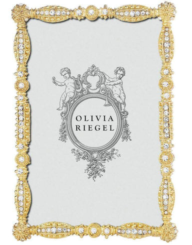 "Olivia Riegel Picture Frames Olivia Riegel Gold Asbury 4"" X 6"" Frame"