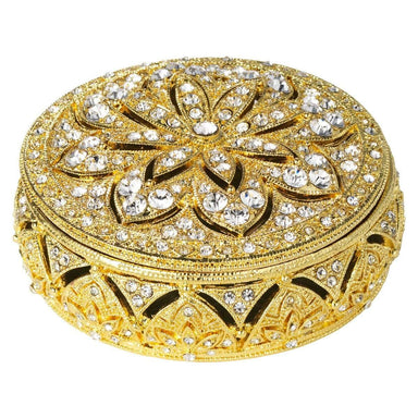 Olivia Riegel Giftware Olivia Riegel Gold Windsor Round Box
