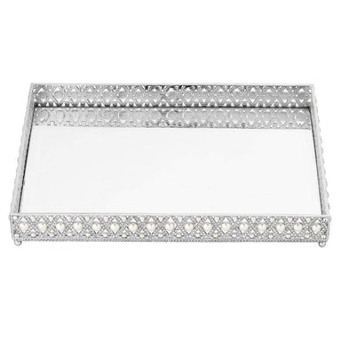 Olivia Riegel Giftware Olivia Riegel Large Pegeen Beveled Mirror Tray