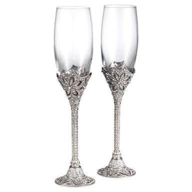 Olivia Riegel Giftware Olivia Riegel Windsor Flute Pair - 7 Oz.