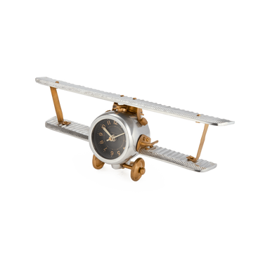 Pendulux Designs Giftware Pendulux Biplane Table Clock