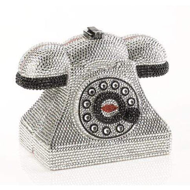 Timmy Woods Handbags Timmy Woods Diamond Phone with Stones