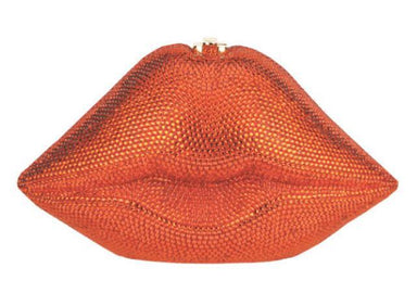 Timmy Woods Handbags Timmy Woods Orange Luscious Lips