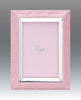 Tizo Designs Picture Frames Tizo 4x6 Faux Lizard Frame with Silverplate, Pink