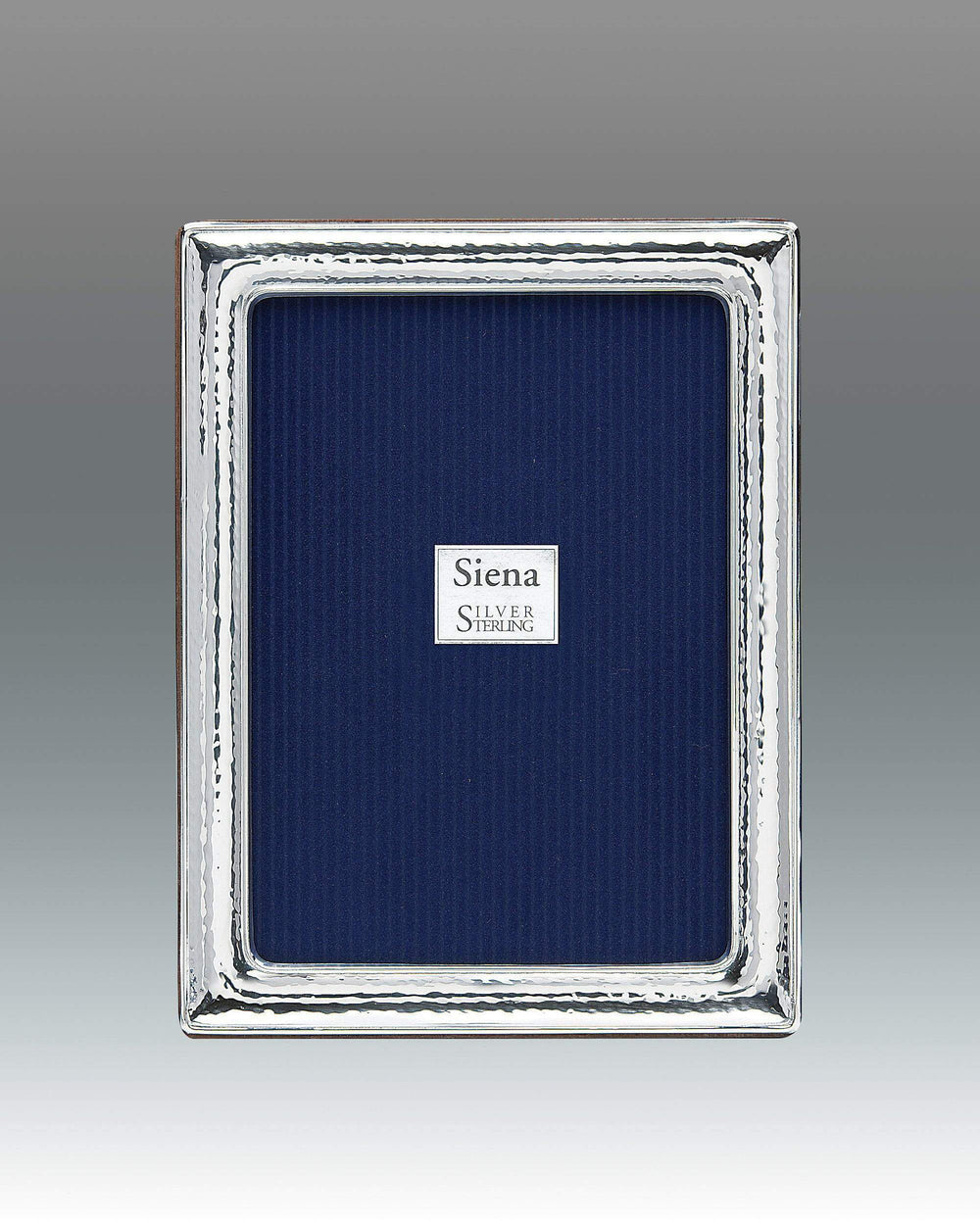 Tizo 8x10 Dimensional Hammered Siena Sterling Frame