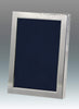 Tizo Designs Picture Frames Tizo 8x10 Hammered Silverplate Frame, Wood Back