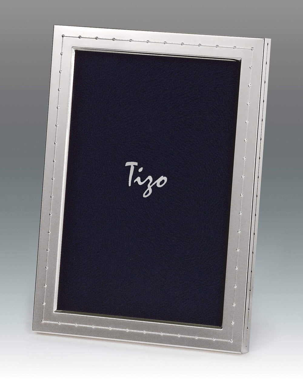 Tizo 8x10 Mid Garland Border Silverplate Frame