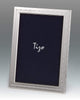 Tizo Designs Picture Frames Tizo 8x10 Mid Garland Border Silverplate Frame