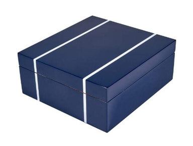 Tizo Designs Giftware Tizo Italian Designed Wood 6-pc Watch Box Blue