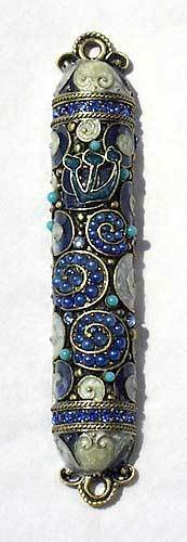 Tizo Designs Giftware Tizo Mezuzah Blue