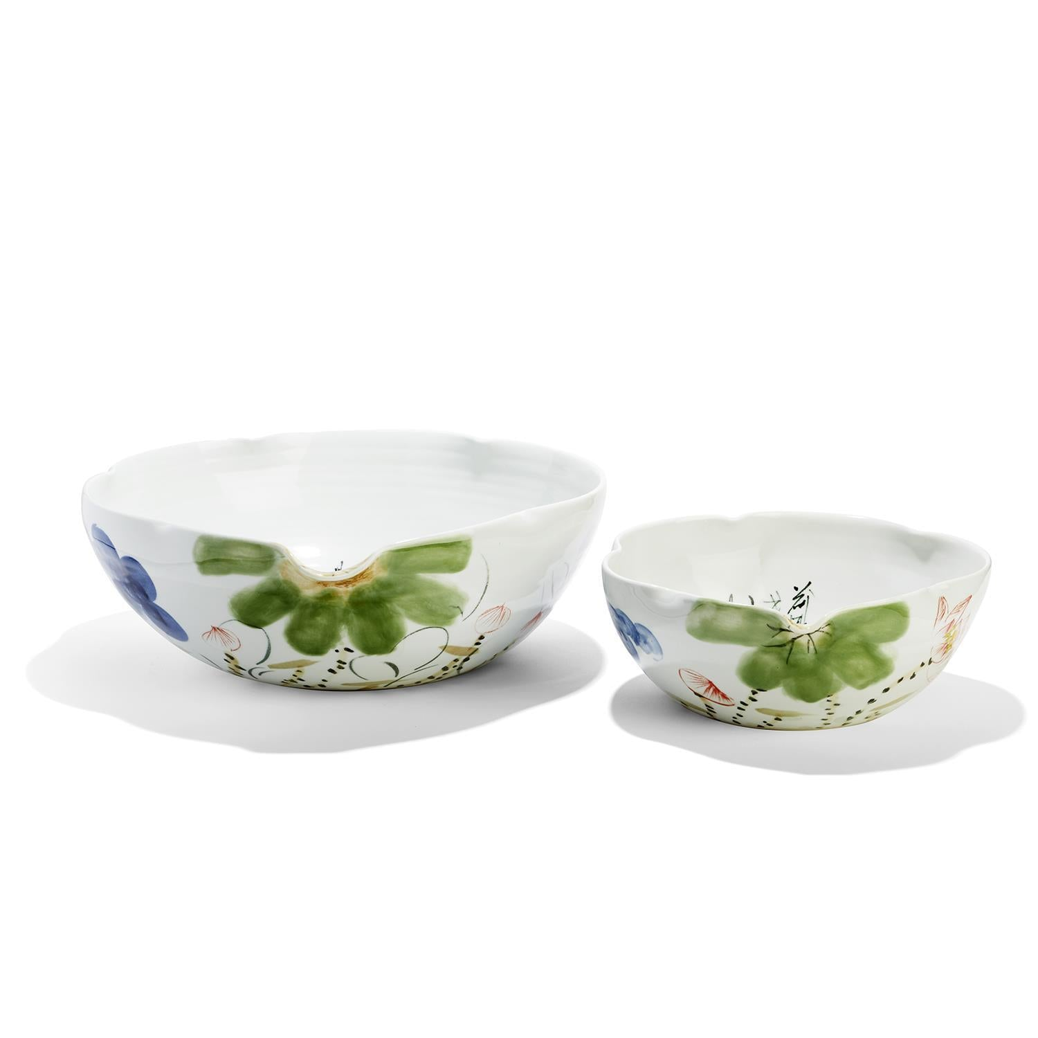 Tozai Home Japanese Blossoms S/2 Bowls