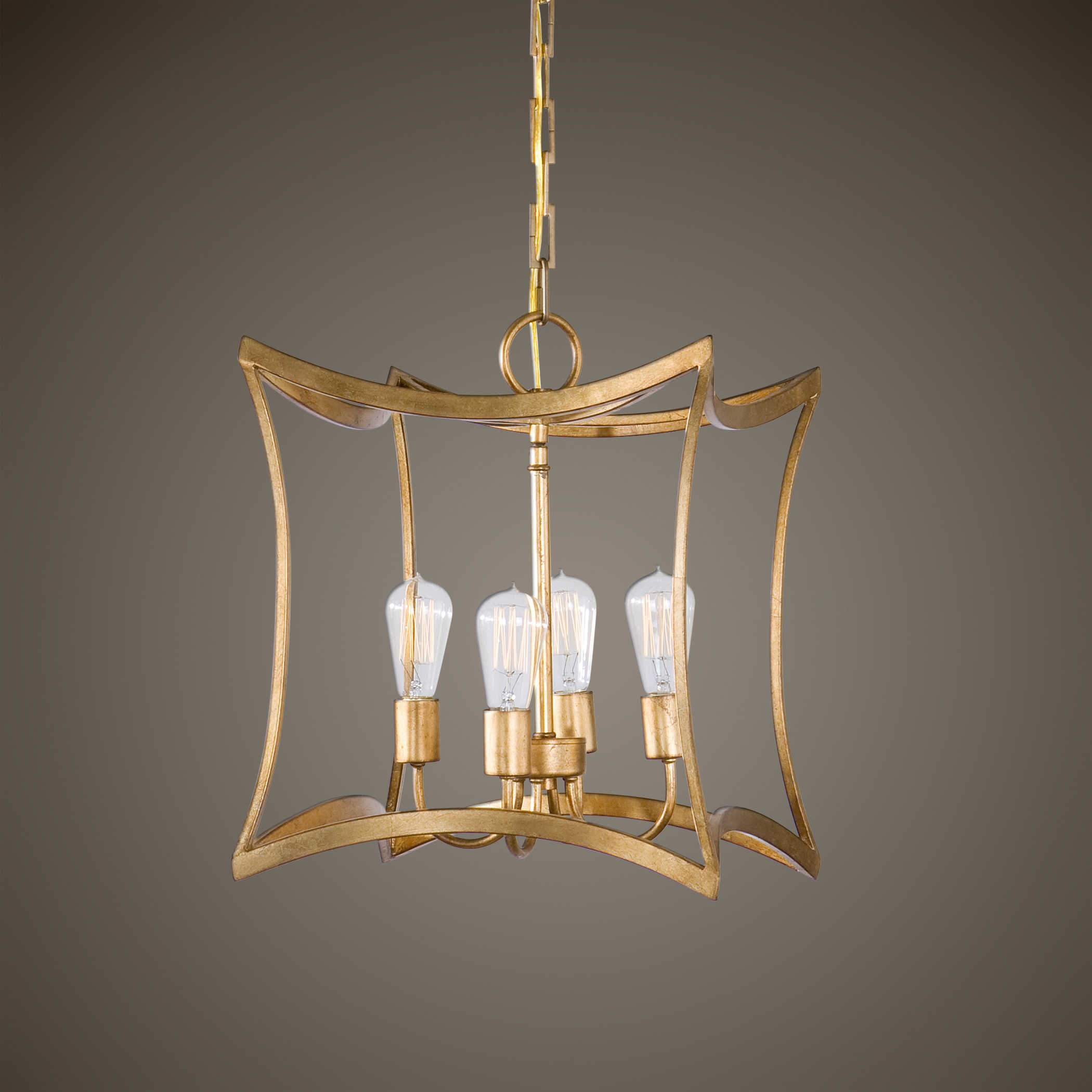 Uttermost Lighting Dore, 4 Lt Pendant