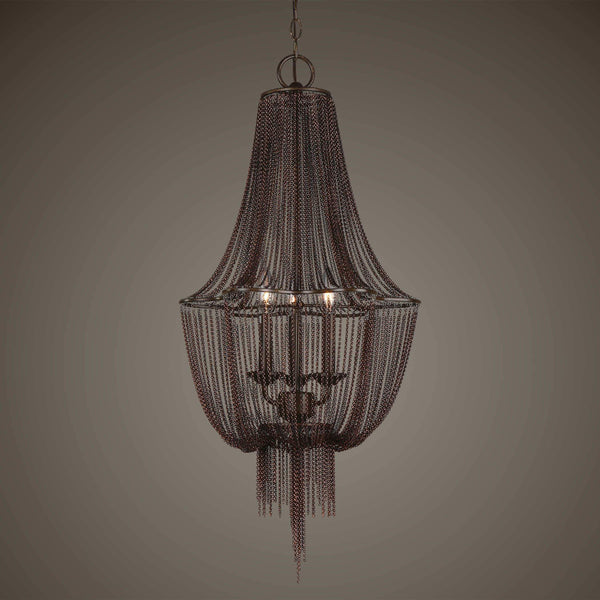 Uttermost Lighting Lezzeno, 3 Lt Chandelier