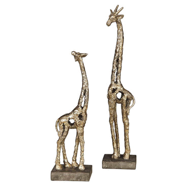 Uttermost Home Masai Giraffe Figurines, S/2