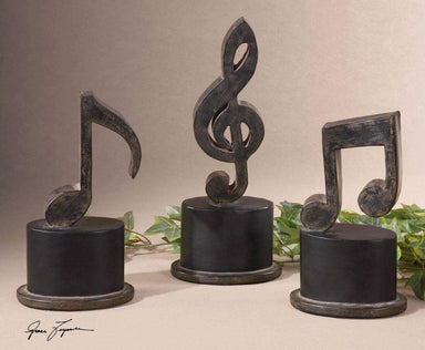 Uttermost Home Music Notes, S/3